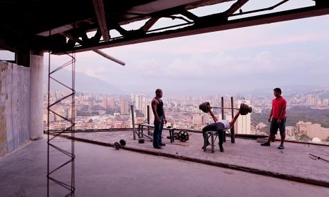 Torre de David, Caracas, Venezuela, 2011 by Iwan Baan.