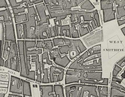 By John Rocque (John Rocque's 1746 Map of London) [Public domain], via Wikimedia Commons