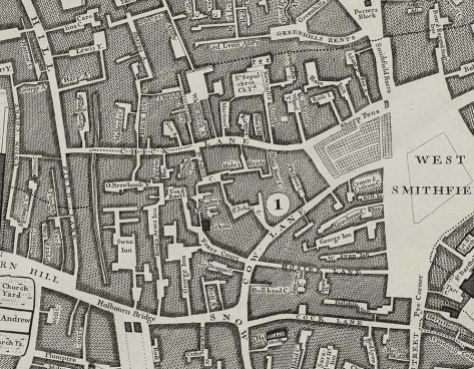 By John Rocque (John Rocque's 1746 Map of London) [Public domain], via Wikimedia Commons