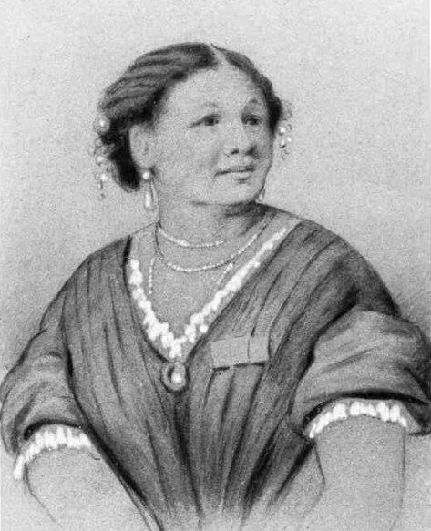 A watercolour painting of Mary Seacole (c. 1850)